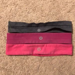 3 Lululemon headbands